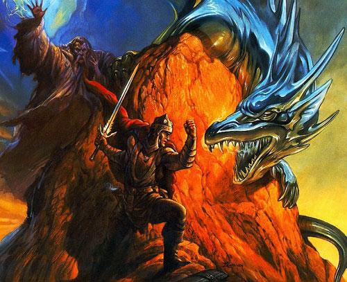 Дракон - голем