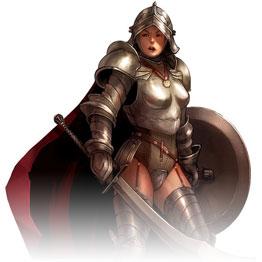 Женщина-паладин